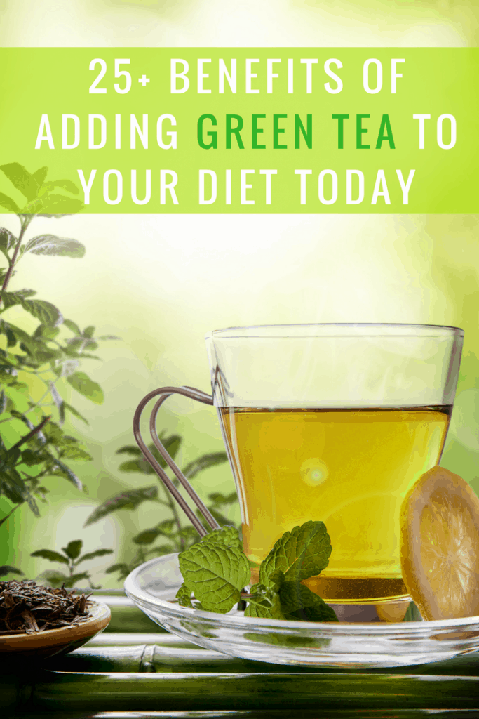 25+ Surprising Benefits of Drinking Green Tea
