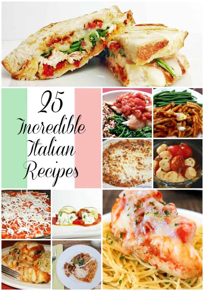 Italian, Recipes, Roundup