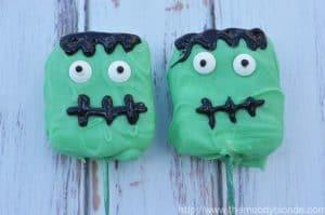 franken-mallow halloween treats
