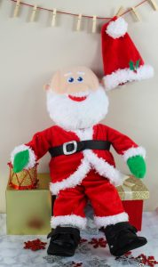 Santa Clothes Doll