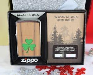 zippo shamrock lighter