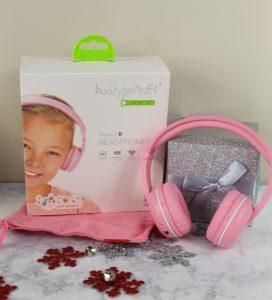 BuddyPhones Pink Headphones