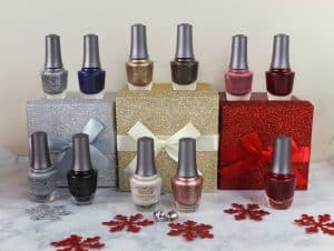 Morgan Taylor's holiday nail polish collection, Champagne and Moonbeams,