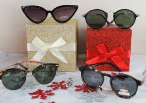 4 pairs of sunglasses from Sunglasses Warehouse